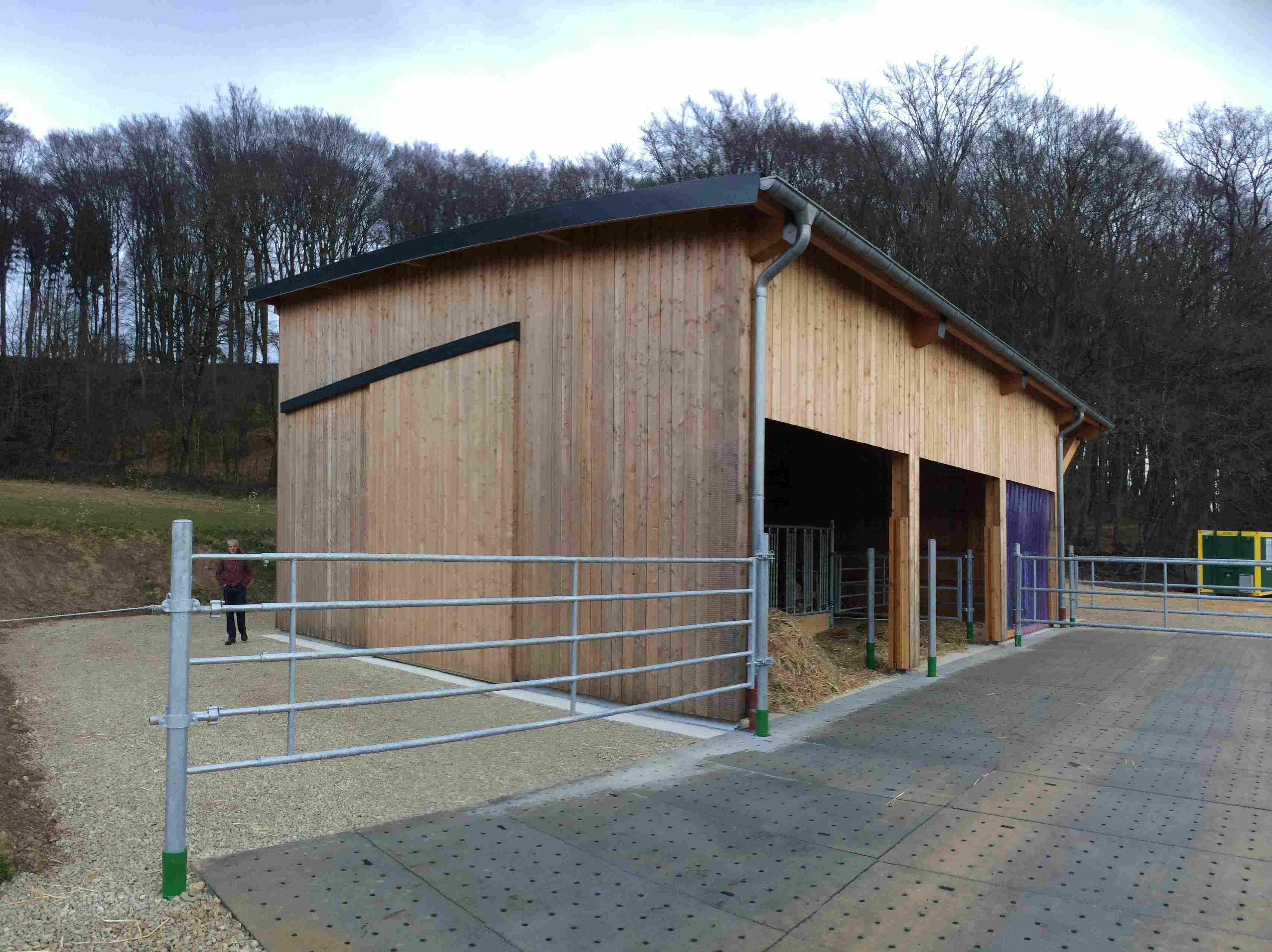 Floss - Blockhaus - Holzrahmen - Zimmerei - Architektur: Fairfax ...
